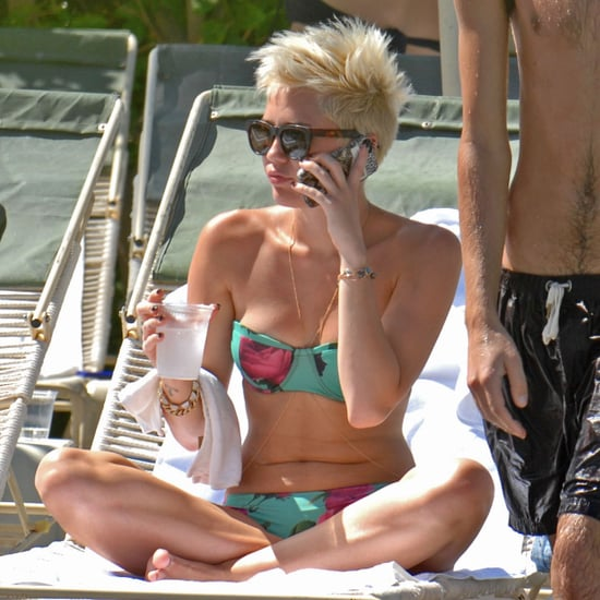 Miley Cyrus Bikini Pictures in Palm Desert