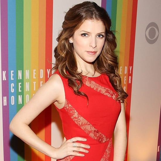 Anna Kendrick Red Dress at Kennedy Center Honors