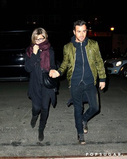 Jennifer and Justin Show PDA During NYC Reunion