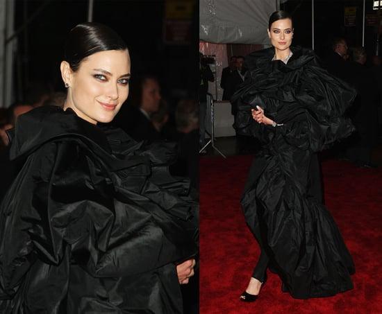 The Met's Costume Institute Gala: Shalom Harlow