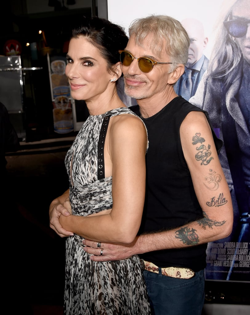 She re-created a classic prom pose with Billy Bob Thornton at the LA premiere of Our Brand Is Crisis in October 2015.