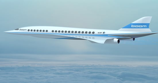 Virgin Galactic Is Helping Develop A New Supersonic Commercial Airplane