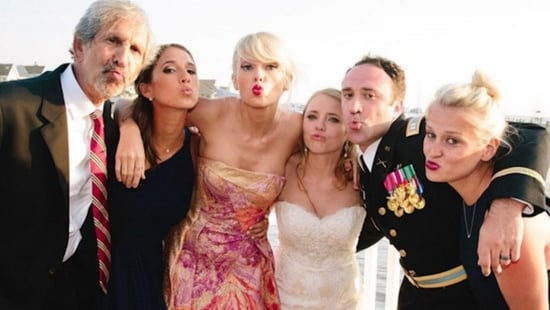 Taylor Swift Showed Up at Another Fan's Wedding & Performed