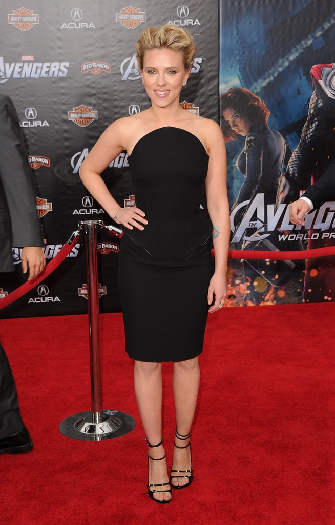 April 2012, The Avengers Premiere in LA