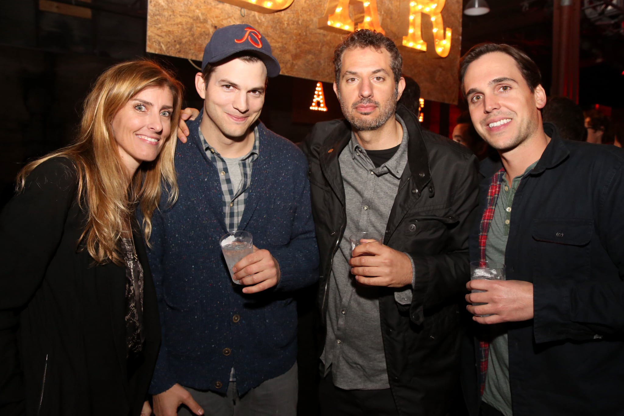 Ashton Parties at SXSW as Mila Steps Out With Her Sparkler