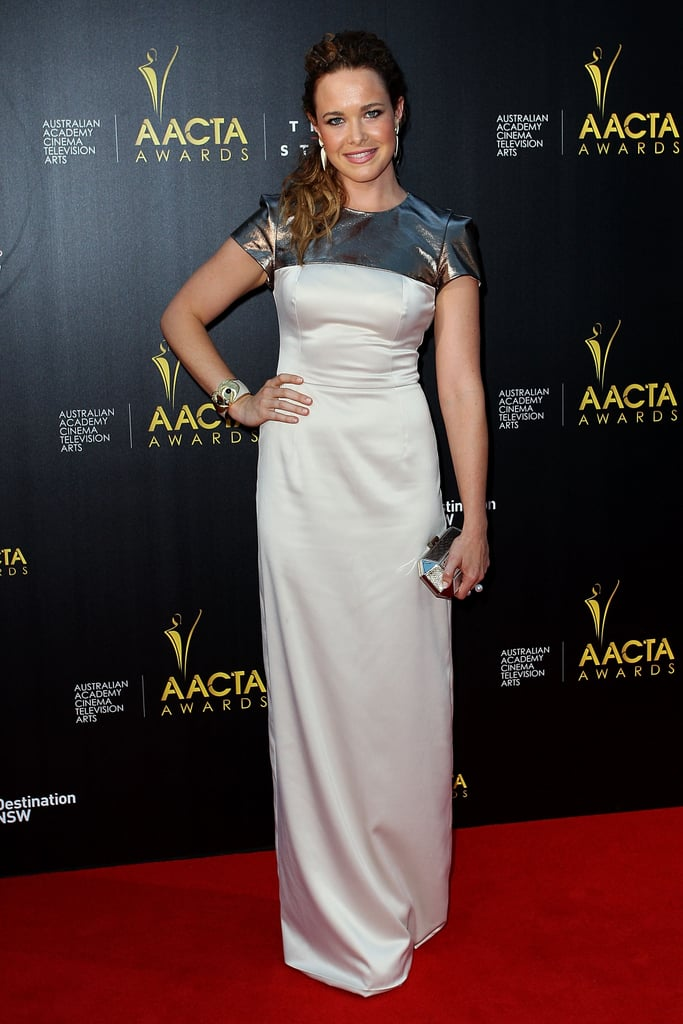 Krew Boylan attended the AACTA Awards in Sydney.