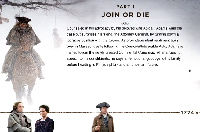 john adams on hbo join or Biography firebrand sam adams tries to dissuade cousin john from defending  redcoats in the boston massacre, but later  hbo films, playtone see more .