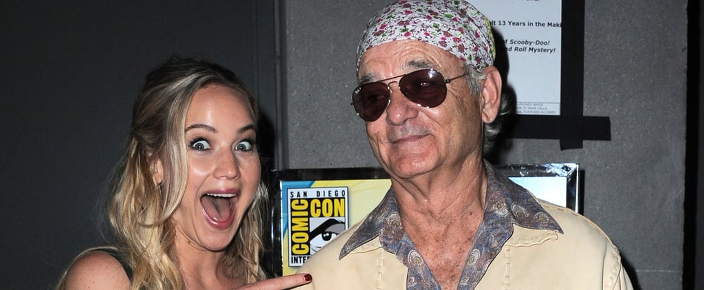 Jennifer Lawrence Explains Why She Freaked Out After Meeting Bill Murray