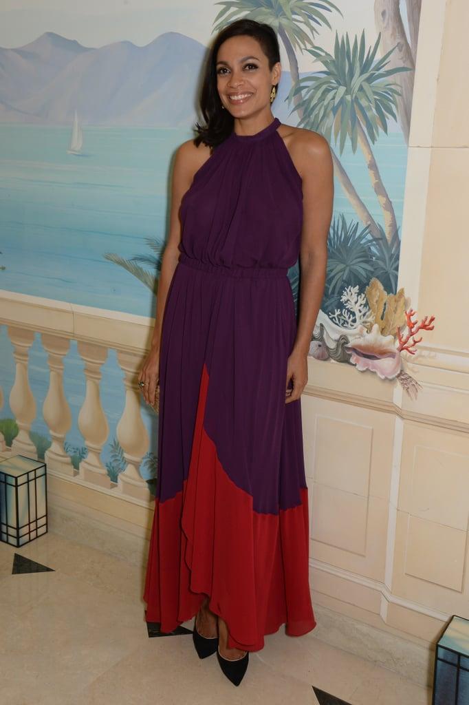Rosario Dawson at the Vanity Fair and Armani Party