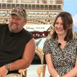 Larry the Cable Guy and Emily Mortimer Cars 2 Interview [Video]