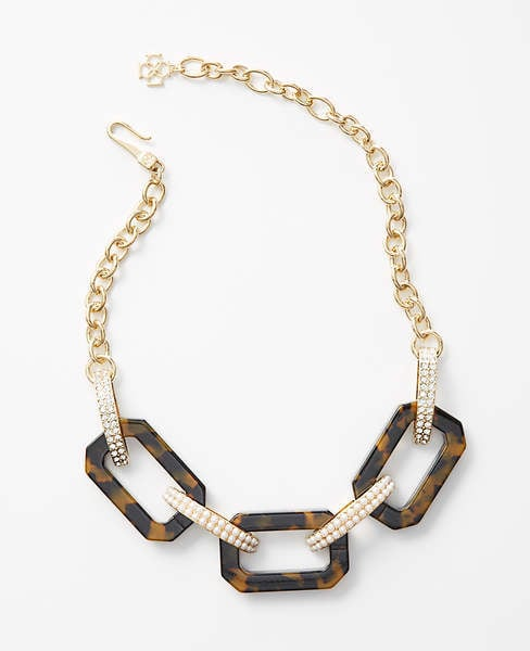 Ann Taylor Chain Link Necklace
