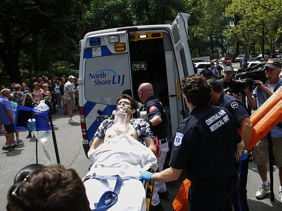 Student Who Lost Foot in Central Park Explosion: 'That's Okay, Just Don't Take My Hands'