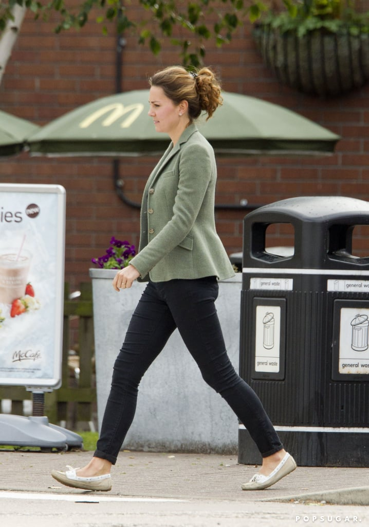 Kate Middleton made a stop at McDonald's during a road trip.