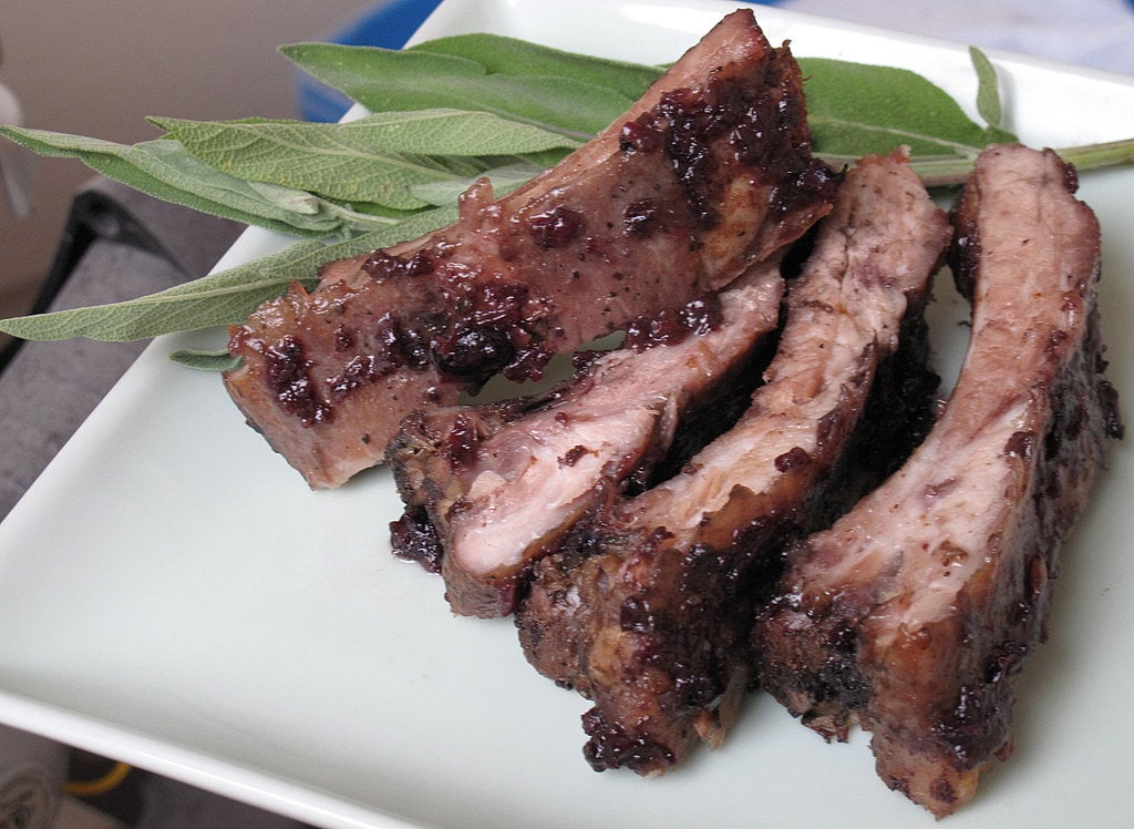 Blueberry-Glazed Ribs