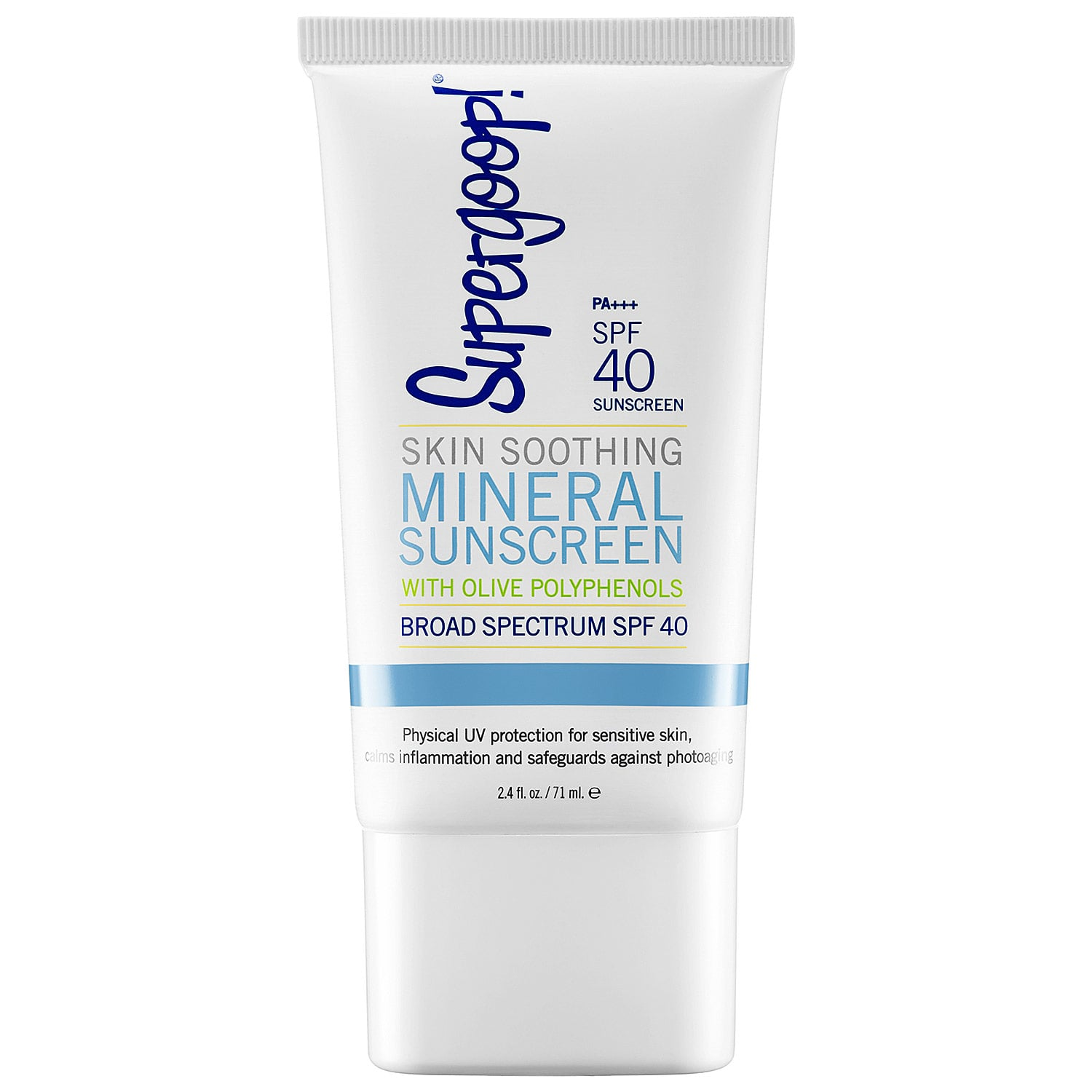 Supergoop! Skin Soothing Mineral Sunscreen Broad Spectrum SPF 40