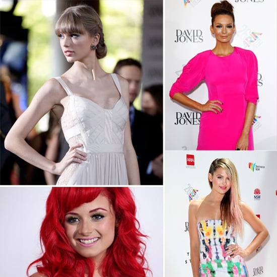 Celebrities Arrive On The 2012 Aria Awards Red Carpet