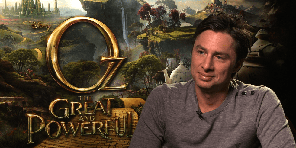 """Zach Braff on Playing a """"Funny Little Monkey"""" in Oz the Great and Powerful"""