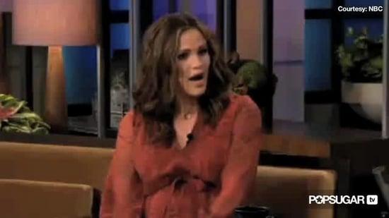 Jennifer Garner Talking About Her Due Date and Baby's Gender