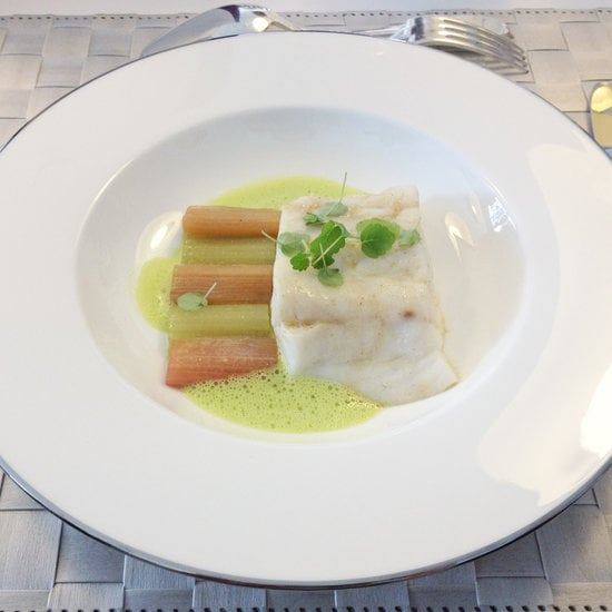 Advanced: Sea Bass With Rhubarb and Celery