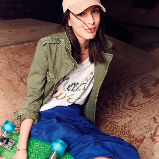 Ruby Aldridge Faces Off For Madewell's Latest Spring Installment