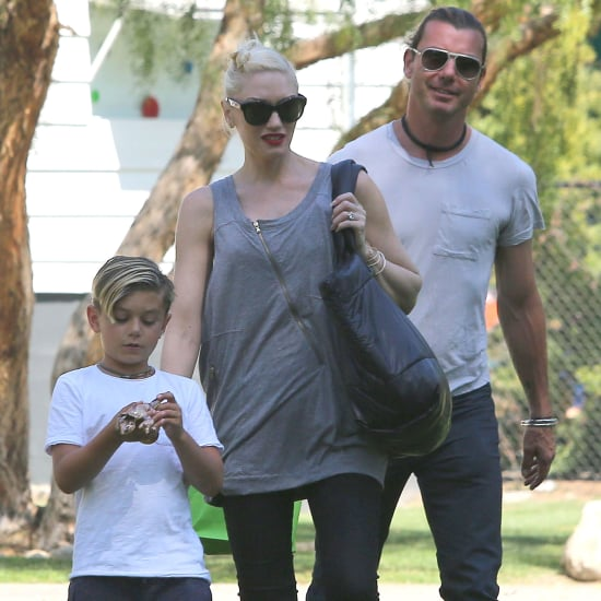 Gwen Stefani and Her Family at the Park | Pictures
