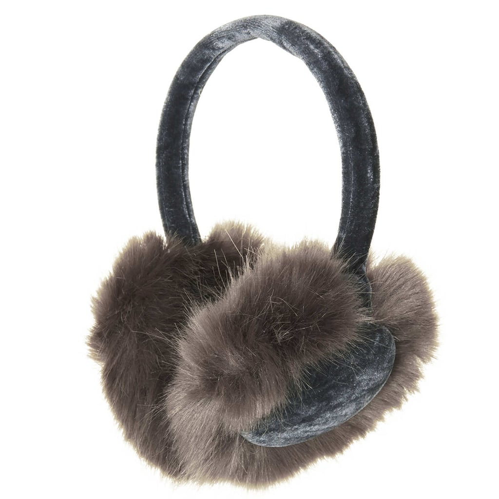 Topshop's earmuffs ($24) — with their faux fur and velvet — are downright luxurious.