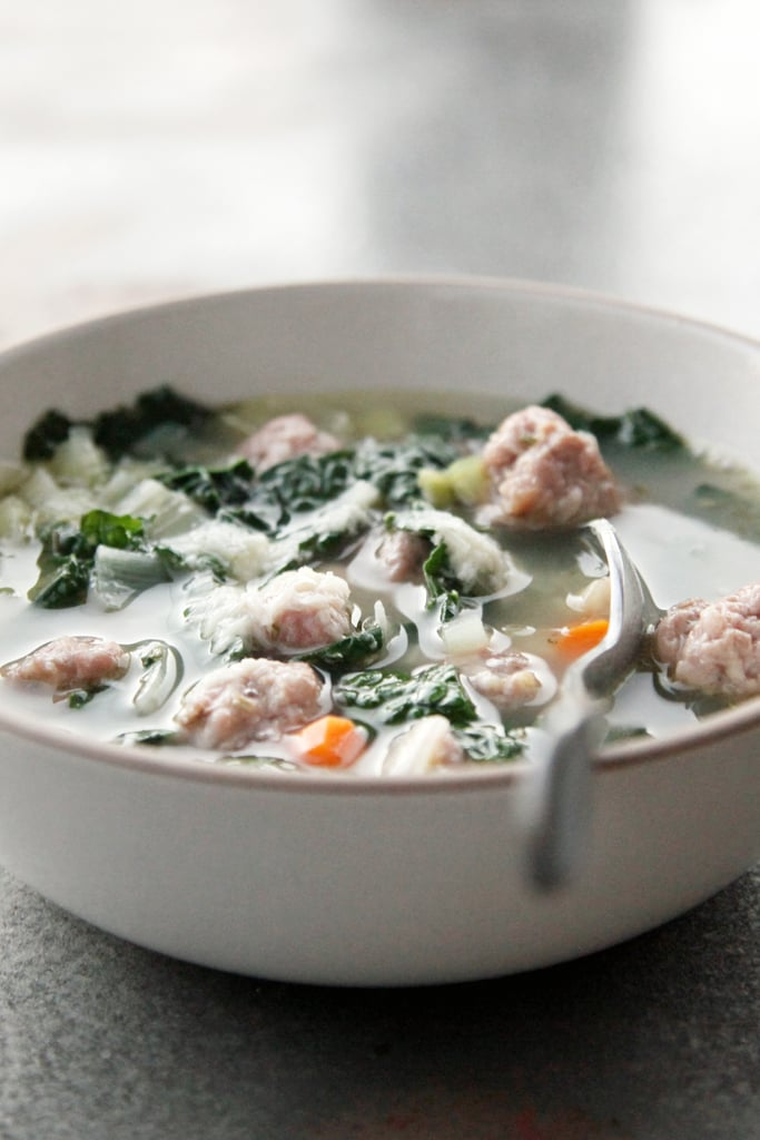 Italian Sausage, White Bean, and Kale Soup