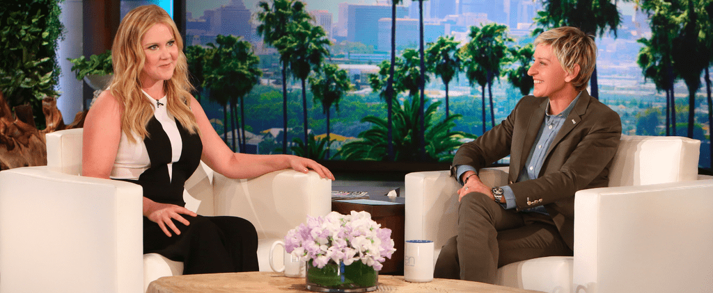 Everything Amy Schumer Says in This Ellen Show Interview Is Painfully, Hysterically Relatable