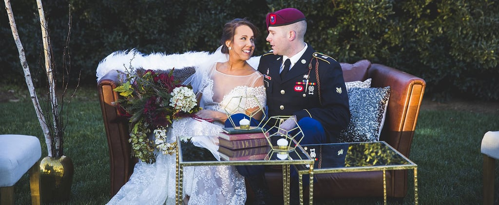 This Military Couple Did a Vow-Renewal Shoot — and It's Breathtaking