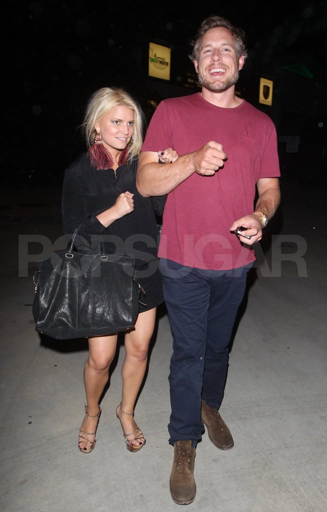 Jessica Simpson and Eric Johnson date night.