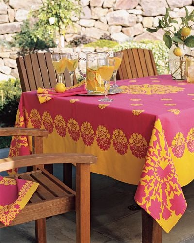 Off To Market Recap: Campground Tablecloth