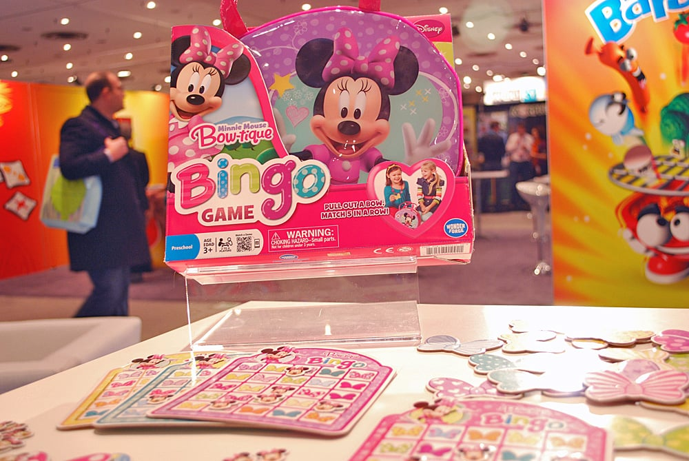 Minnie's Bowtastic Bingo Game