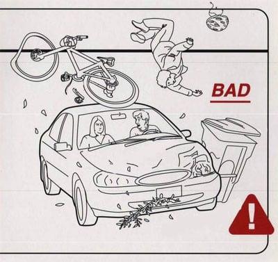 Don't Drive Like a Maniac to the Hospital
