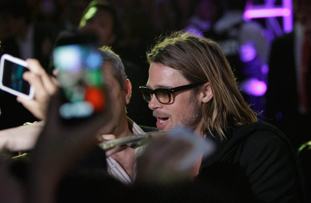 Brad Pitt attended his latest premiere solo.