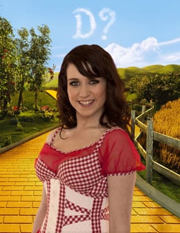 Pictures of Danielle Hope Who Has Won Over the Rainbow and Is Andrew Lloyd Webber's Dorothy in Wizard of Oz