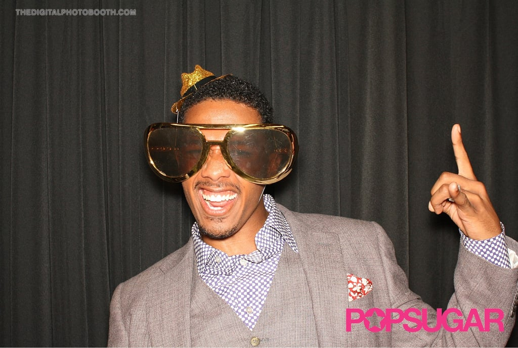 Nick Cannon was the life of the party.