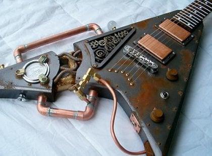 'Punked Guitar