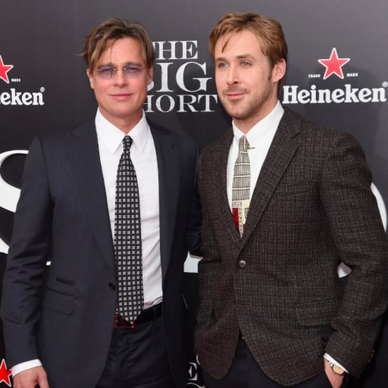 Brad Pitt and Ryan Gosling at The Big Short NY Premiere
