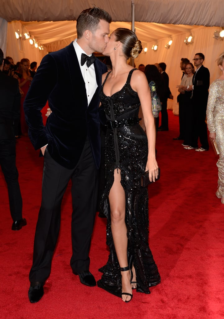 Gisele Bundchen and Tom Brady shared a moment at the Met Gala.