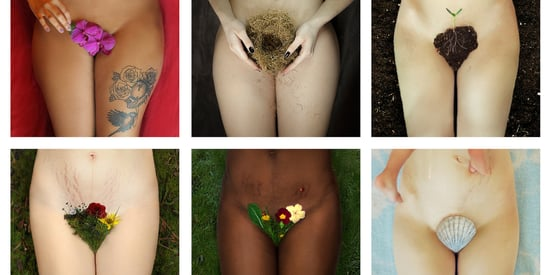 Feminist Artist Makes Women's Bushes Bloom In Surreal Tribute To Mothers