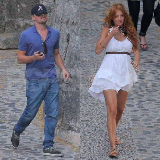 Blake Lively Pictures With Leonardo DiCaprio in France