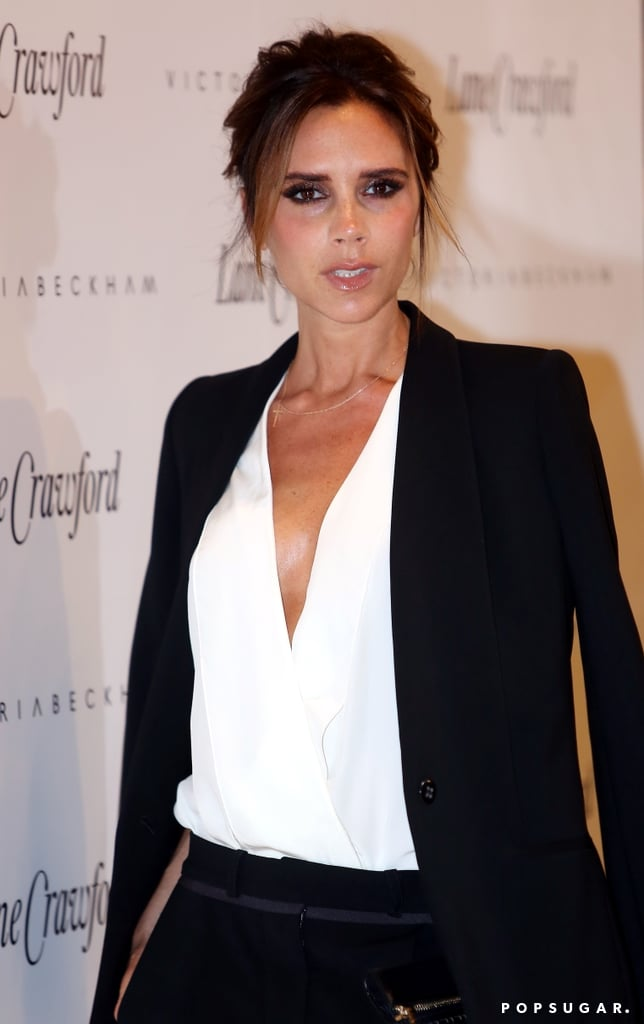 Victoria Beckham launched her fashion line at the Lane Crawford department store in Beijing.