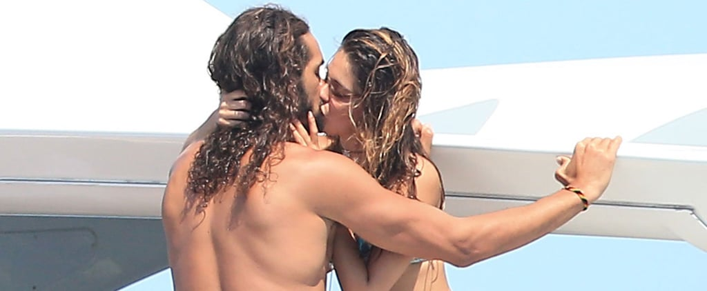 NBA Star Joakim Noah Has a Steamy Makeout Session With a Mystery Woman in Ibiza