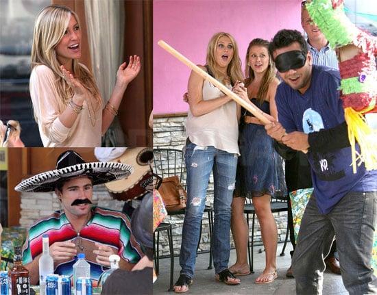 Photos of Kristin Cavallari, Lo Bosworth, Stephanie Pratt, Brody Jenner Filming the Hills