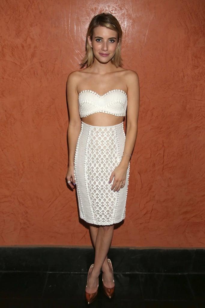 Emma Roberts at the Maui Film Festival