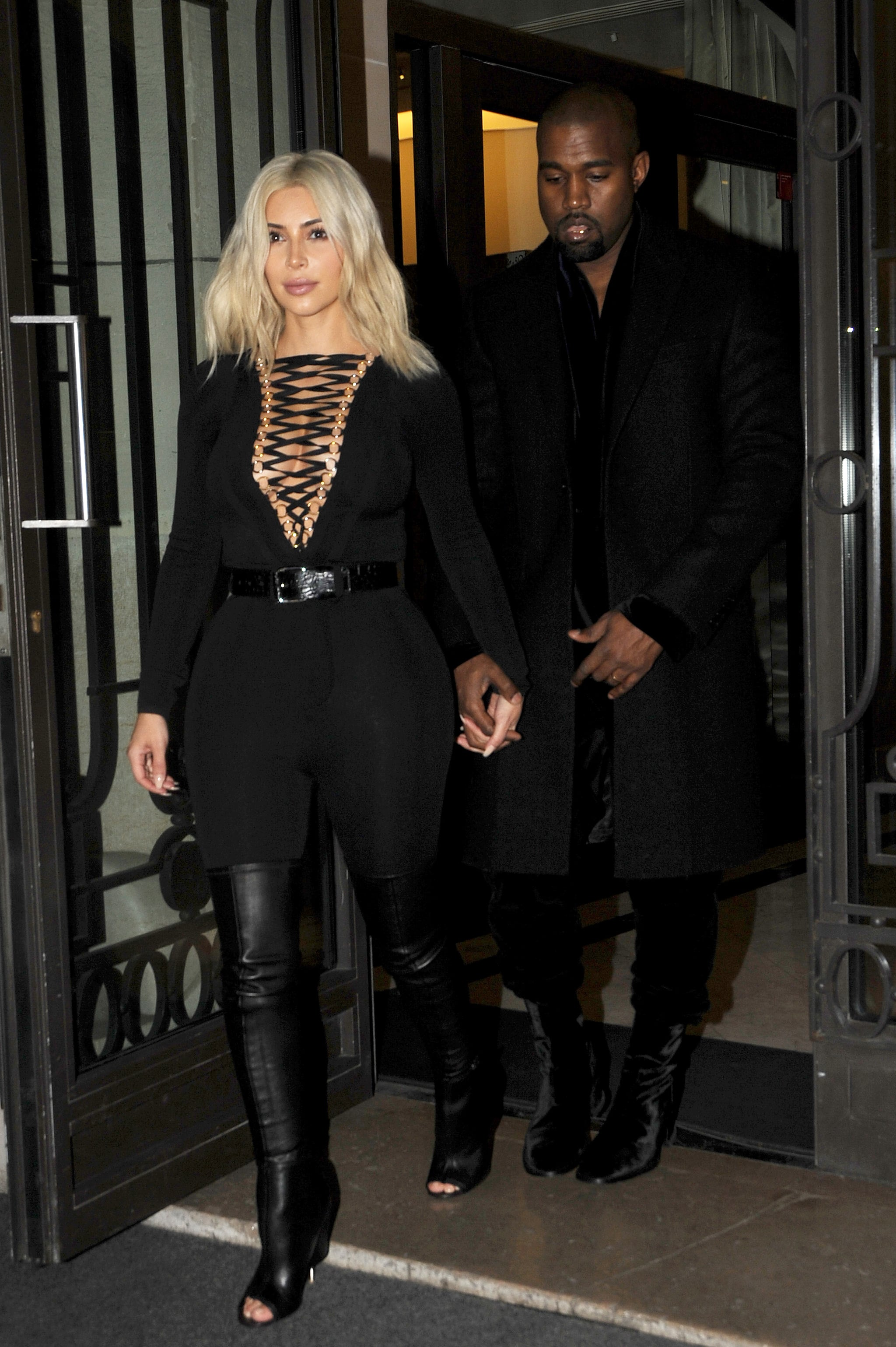 Celebrity gossip news forget kim 39 s new hair kanye 39 s boots are the talk of paris fashion - Parijs zoet ...