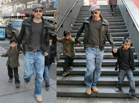 Jolie-Pitt Boys