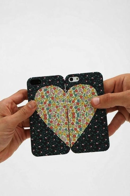 Declare your undying love for one another with this set of besties iPhone cases ($25).