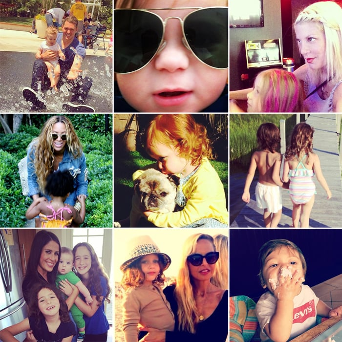 Beyoncé, Rachel, Molly, and More Shared the Sweetest Snaps of Their Tots This Week!