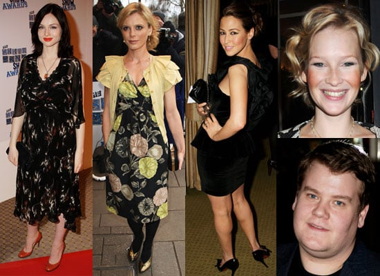 Photos of Sophie-Ellis Bextor, Emilia Fox, Rachel Stevens, Joanna Page, James Corden at South Bank Show Awards